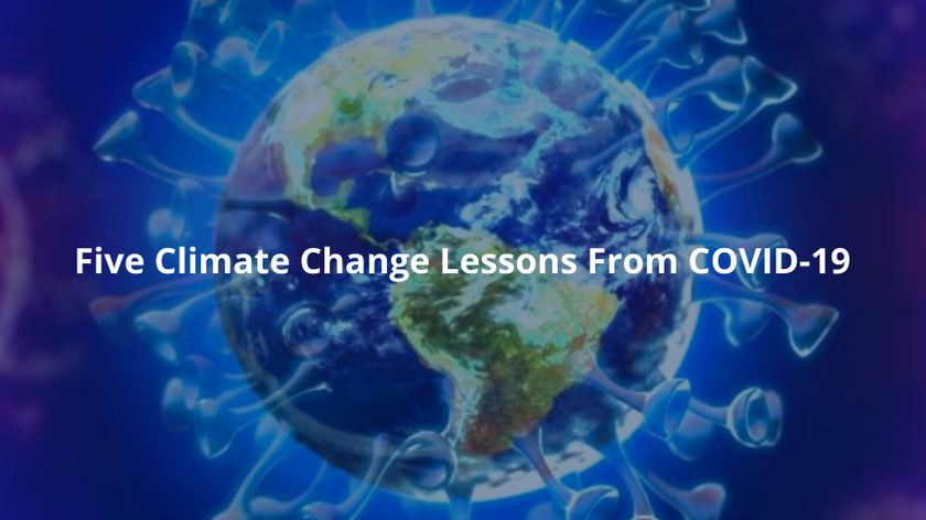 5 climate change lessons from covid