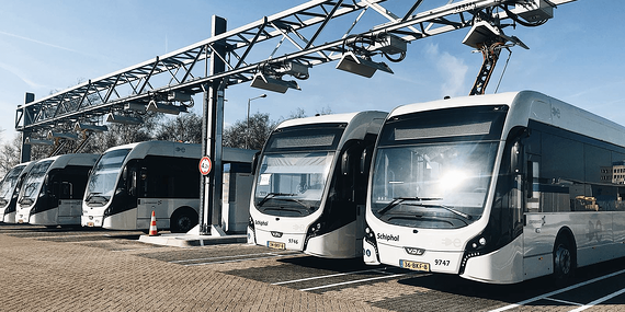 E-buses in Amsterdam