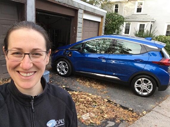 EV customer, charging, home