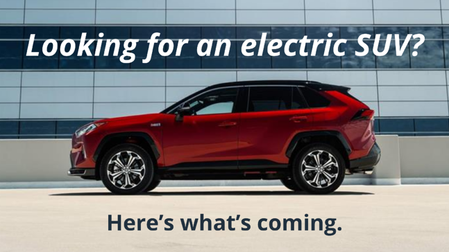 Electric SUV blog header