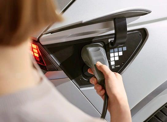 Hyundai Ioniq 5 Chargin Port