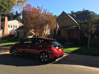 Katy's Nissan Leaf