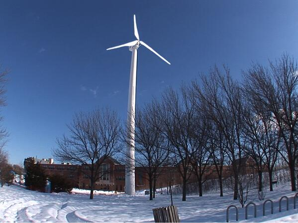 Medford wind turbine