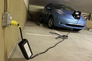 Level I Charge Nissan Leaf