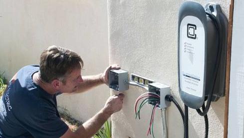 installing EVSE
