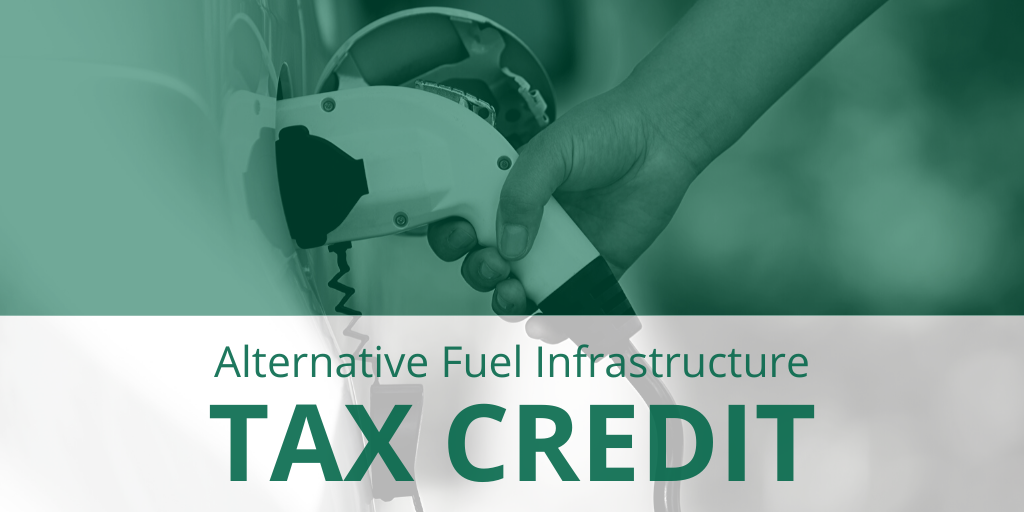 Alt. Fuel Infrastructure Tax Credit twitter