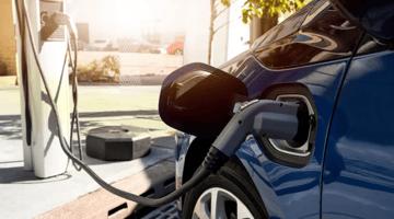 ev, charging, outdoors, drive green