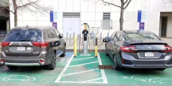 ev, drive green, charging, public